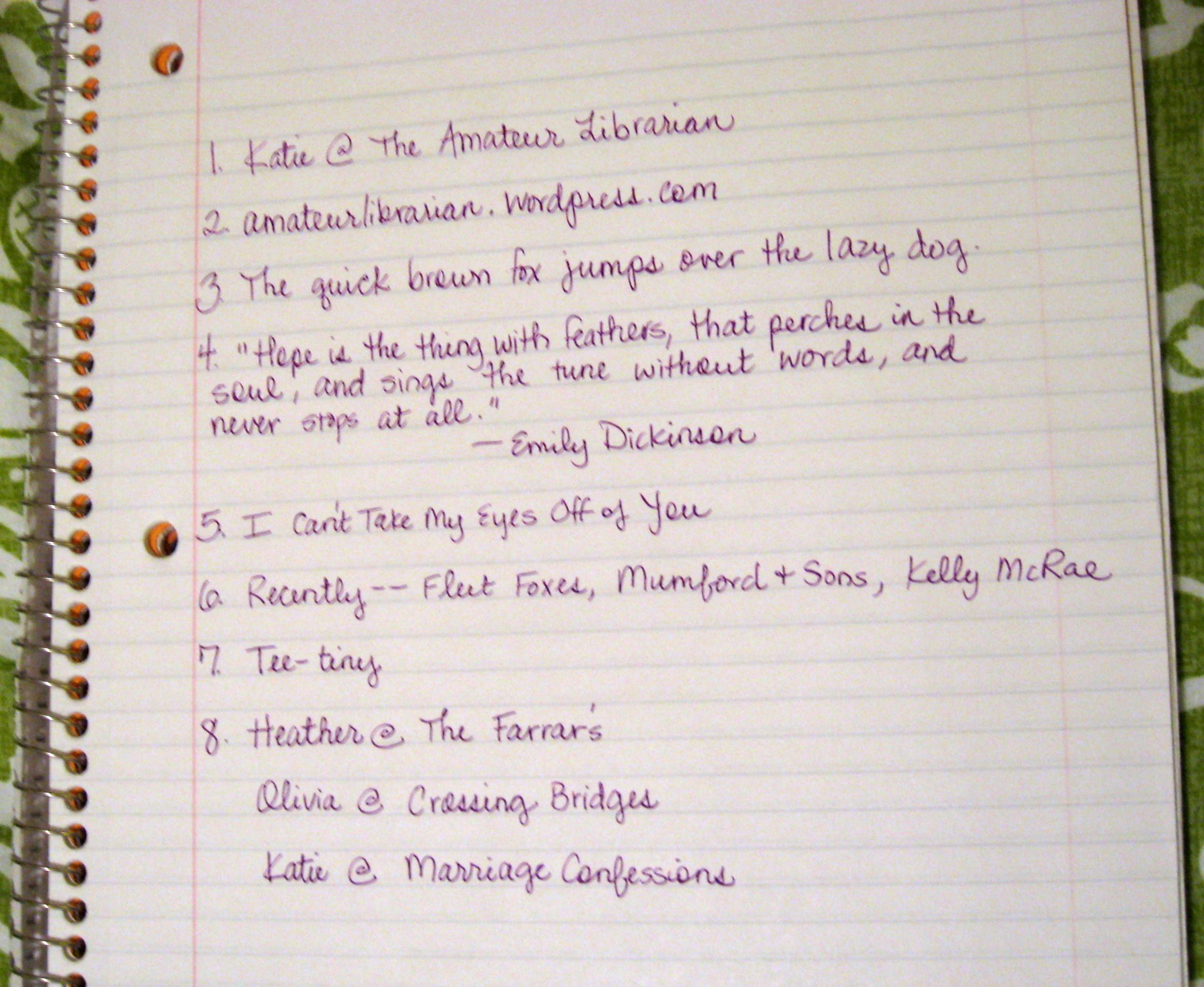 Pretty Girl Handwriting