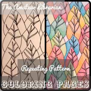 The Amateur Librarian // DIY Coloring Pages