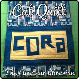 The Amateur Librarian // Cat Quilts