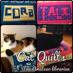The Amateur Librarian // Cat Quilts