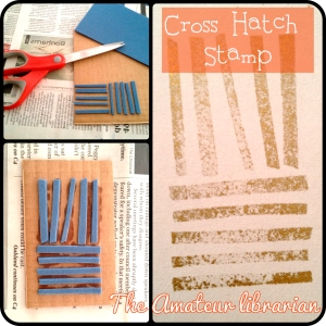 The Amateur Librarian // DIY Stamps