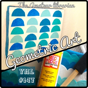 The Amateur Librarian // Geometric Art