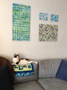 The Amateur Librarian // DIY Canvas Art