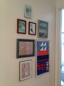 The Amateur Librarian // Sail On Mini Quilt