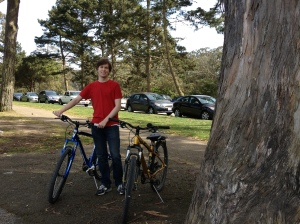 The Amateur Librarian // Biking through Golden Gate Park