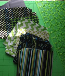 The Amateur Librarian // Sneak Peek: Baby Boy Chevron Quilt