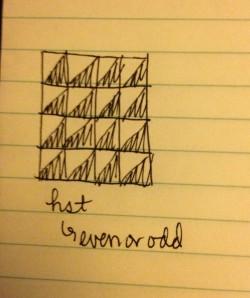The Amateur Librarian // Sneak Peek: Baby Boy Chevron Quilt