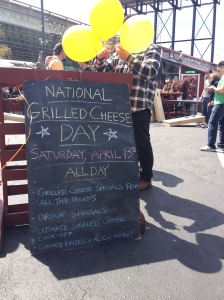 The Amateur Librarian // National Grilled Cheese Day