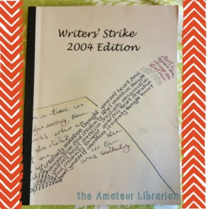 The Amateur Librarian // Blast From My Past: Writers' Strike