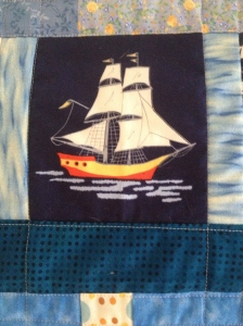 The Amateur Librarian // Nautical Mini Quilts