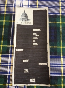 The Amateur Librarian // Black Out Poetry