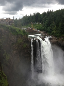 The Amateur Librarian // Snoqualmie Falls