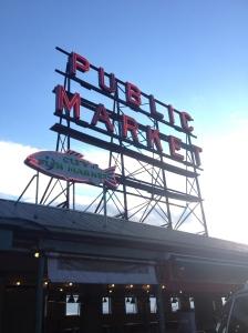 The Amateur Librarian // Pike Place Market