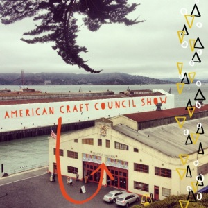 The Amateur Librarian // American Craft Council Show