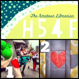 The Amateur Librarian // High Five for Friday