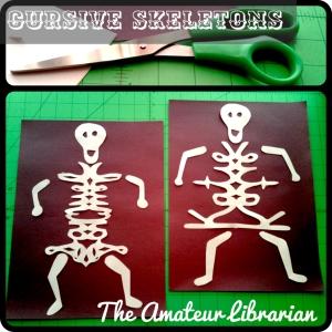 The Amateur Librarian // Cursive Skeletons