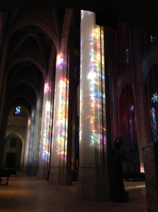 The Amateur Librarian // Grace Cathedral Ribbon Installation