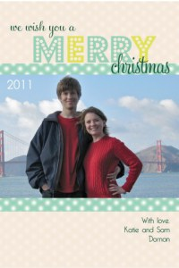 The Amateur Librarian // Merry Christmas Cards