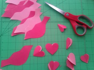 The Amateur Librarian // Lovebird Valentines