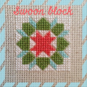 The Amateur Librarian // Quilty Stitches Sampler Along