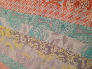The Amateur Librarian // One Jelly Roll Race = Two Baby Quilts
