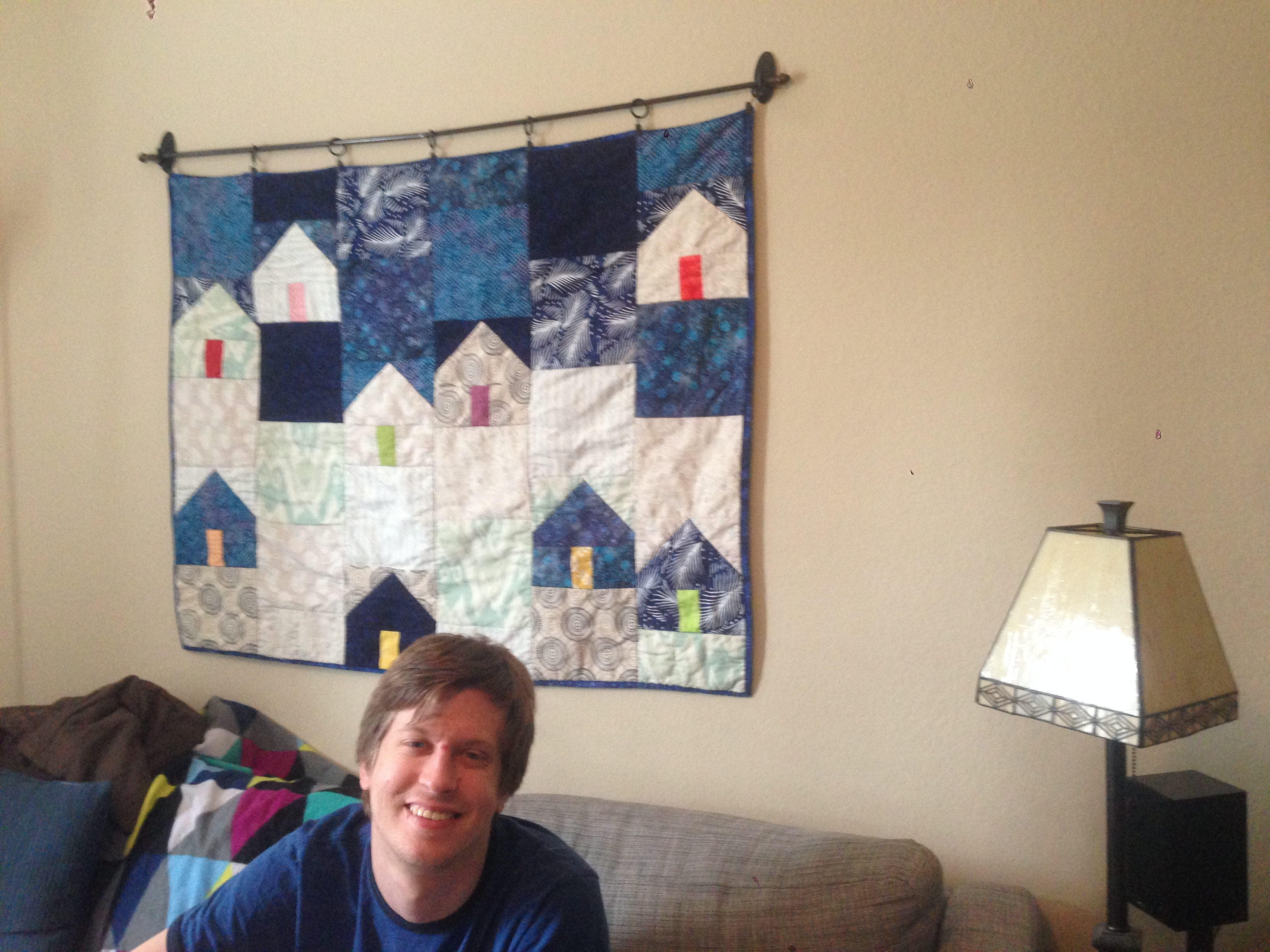 project pinterest: hillside houses quilt – the amateur librarian