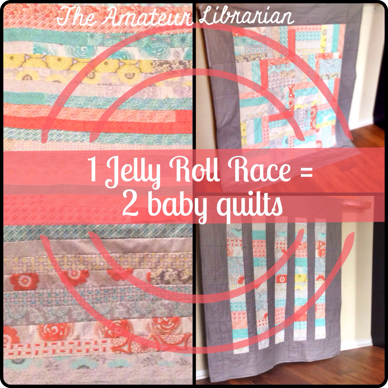 Project Pinterest: One Jelly Roll Race Quilt = Two Baby Quilts ... : jelly roll baby quilt - Adamdwight.com