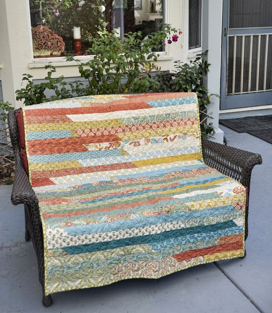 Project Pinterest One Jelly Roll Race Quilt Two Baby Quilts The