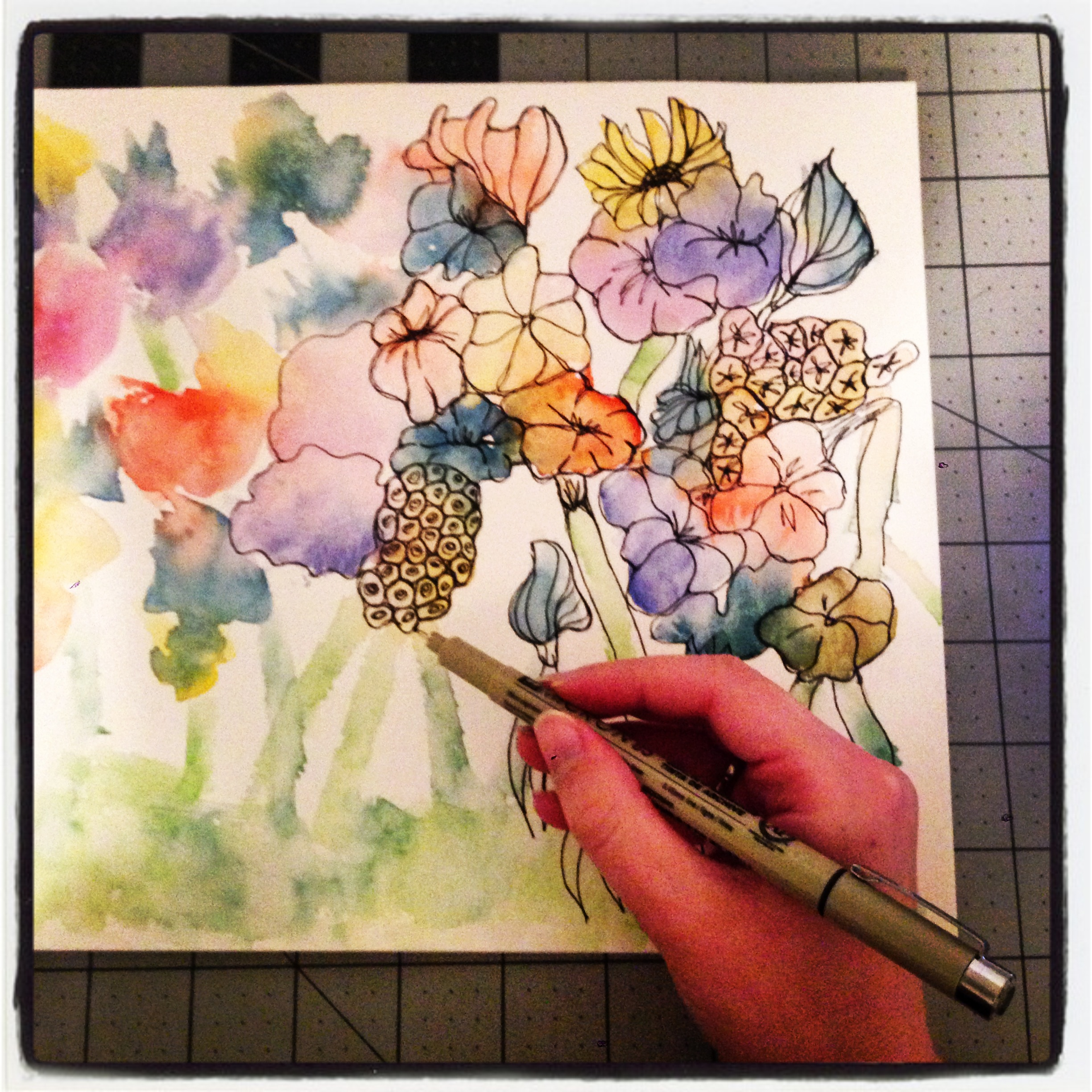 diy art projects project diy watercolor flowers the 31183