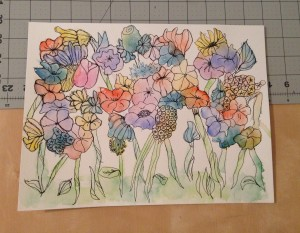 The Amateur Librarian // DIY Watercolor Flowers