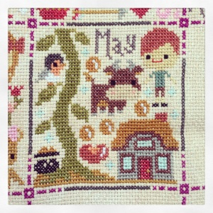 The Amateur Librarian // Once Upon a Time Cross Stitch
