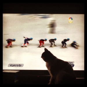 Cora loves the Olympics too!