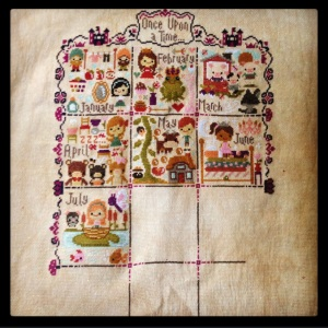 The Amateur Librarian // Once Upon a Time sampler
