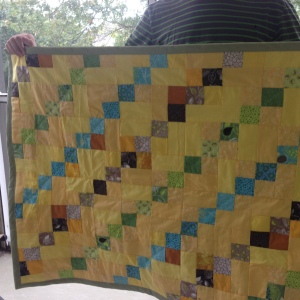 The Amateur Librarian // Moving Up Piece by Piece Quilt