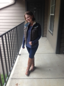 The Amateur Librarian // Jacket to Vest Refashion