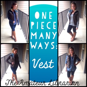 The Amateur Librarian // One Piece Many Ways: Puffer Vest