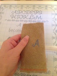 The Amateur Librarian // Cross Stitch Bookmarks