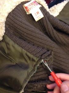 The Amateur Librarian // Jacket to Vest Refashion