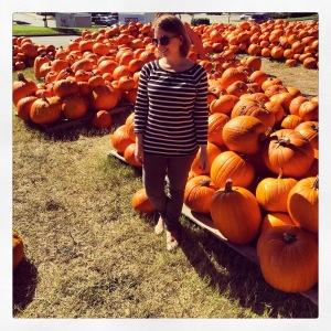 The Amateur Librarian // Cooper Trooper Pumpkin Patch