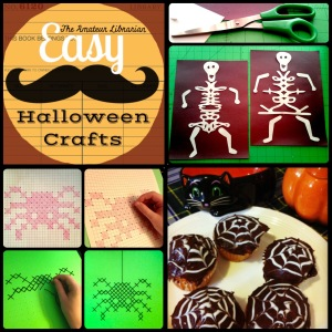 The Amateur Librarian // Quick & Easy Halloween Treats