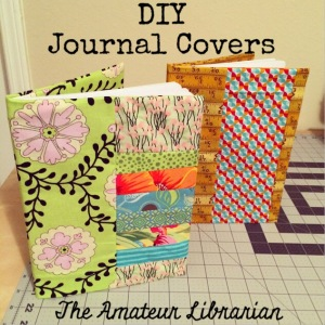 The Amateur Librarian // DIY Comp Notebook Covers