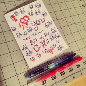 The Amateur Librarian // DIY Valentines