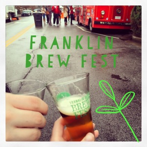 The Amateur Librarian // Franklin Brew Fest