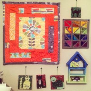 The Amateur Librarian // Mini Quilts
