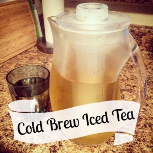 The Amateur Librarian // Cold Brew Iced Tea