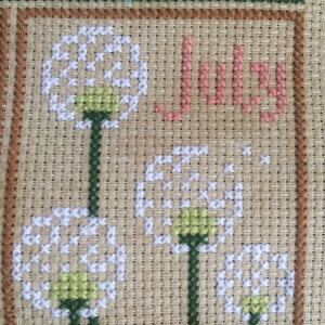 The Amateur Librarian // Woodland Creatures Cross Stitch