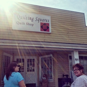 The Amateur Librarian // Quilt Shop Hop