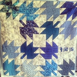 The Amateur Librarian // Modern Maples Marriage Quilt
