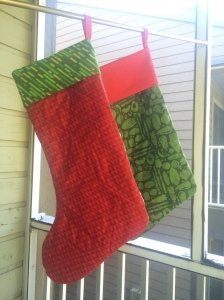 The Amateur Librarian // Holly Jolly Stocking Pattern Giveaway!