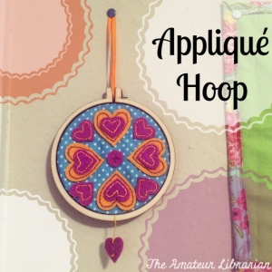 The Amateur Librarian // Applique Hoop Kit